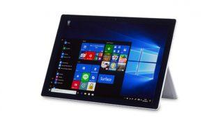 Surface Pro (2017)レビュー! 間違いなく最高品質のWindowsタブレット