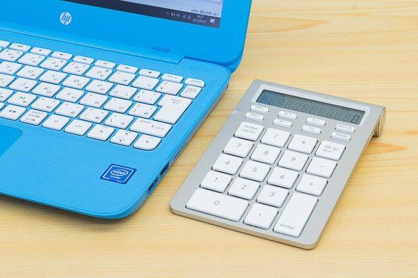 コンパクトなノートPCで便利