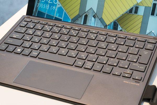 HP Spectre x2のキーボード