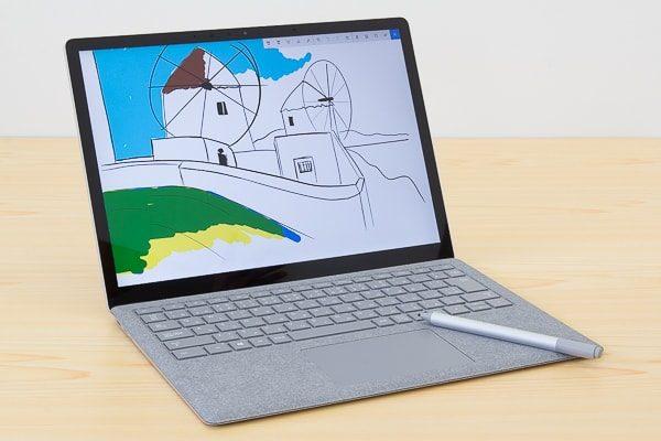 Surface LaptopとSurfaceペン