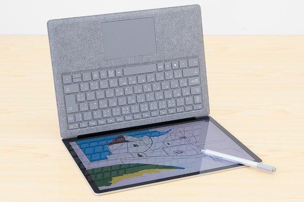Surface Laptopをさかさまに使う