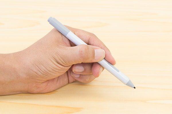 Surfaceペンのグリップ感