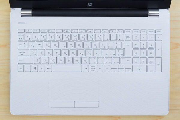 HP 15-bw000のキーボード