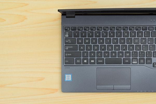 LIFEBOOK WU2/B3のキーボード