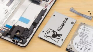 4GBメモリー+HDD搭載のHP 15-bw000が遅いので、メモリー増設とSSD換装を試してみた