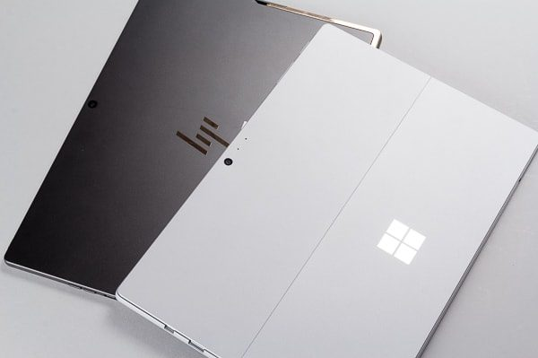Spectre x2 Surface Pro 比較 検証