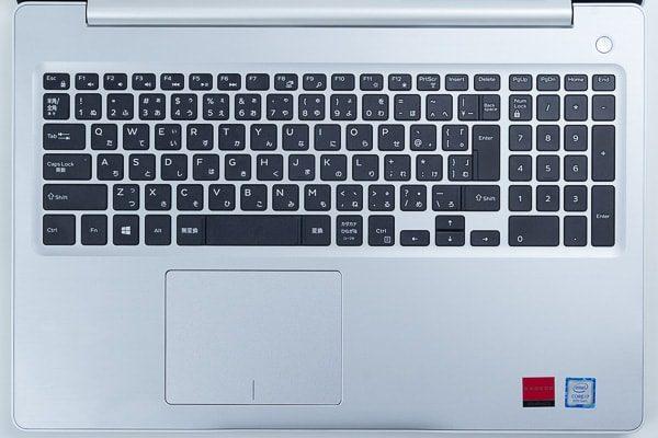 Inspiron 15 5000のキーボード