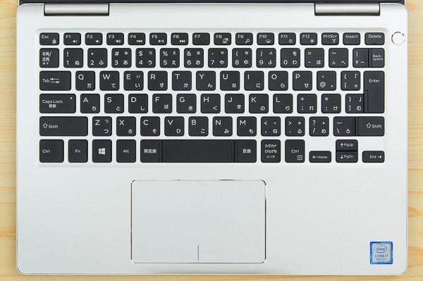 Inspiron 13 7000のキーボード
