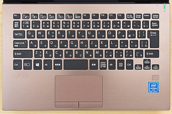 VAIO S11のキーボード