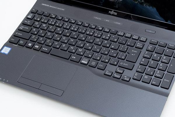 LIFEBOOK WA2/B3のキーボード