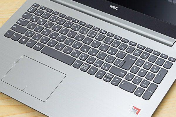 LAVIE Direct NS(A)のキーボード
