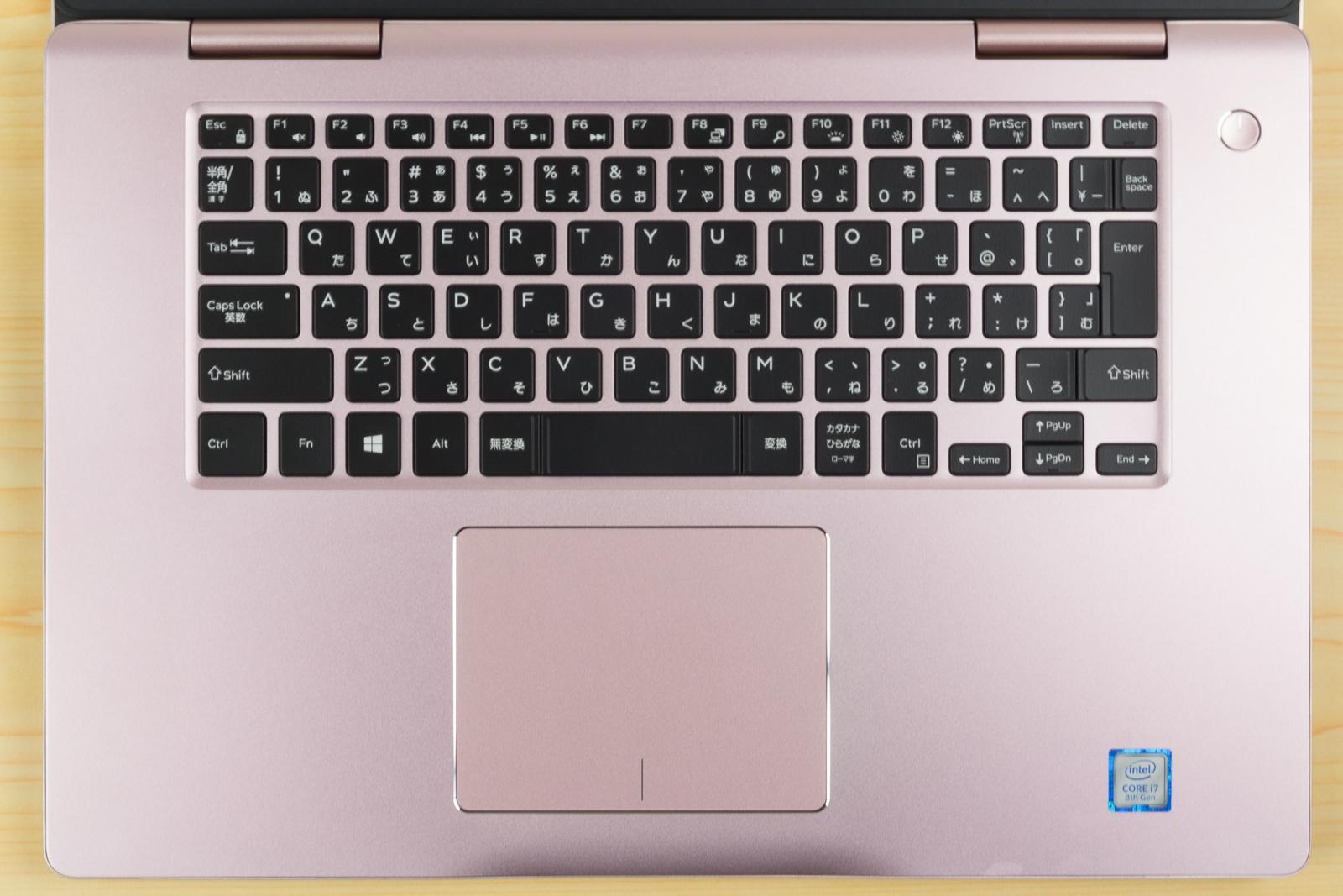 Inspiron 15 7000のキーボード
