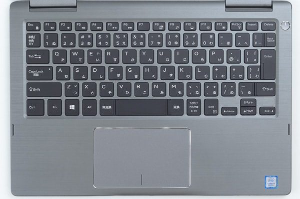 Inspiron 13 7000 2-in-1のキーボード