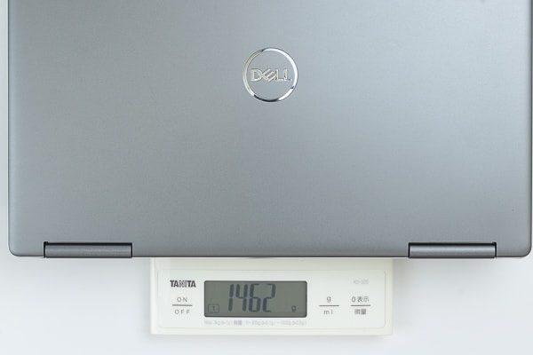 重量の実測値は2.047kg