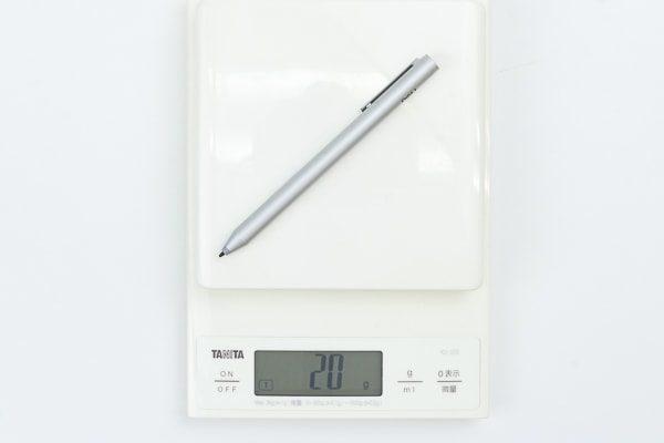 アクティブペンの重さ