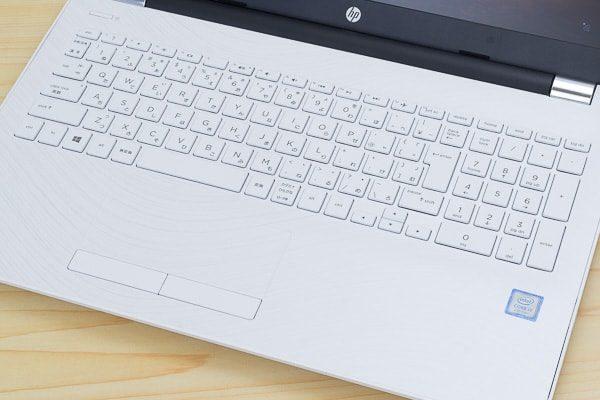 HP 15-bs000のキーボード