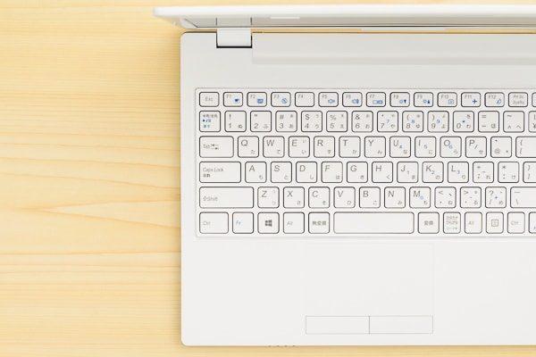 m-Book J シリーズ 2018モデルのキーボード