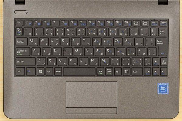 m-Book Jのキーボード