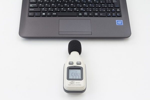 ノートPCの計測方法