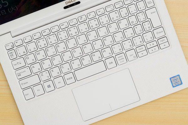 XPS 13のキーボード