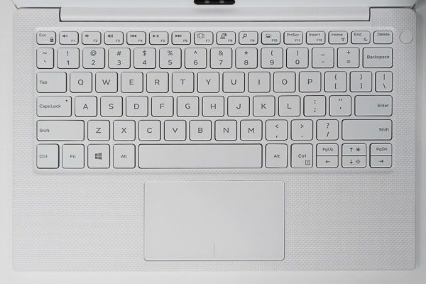 XPS 13の英字配列キーボード