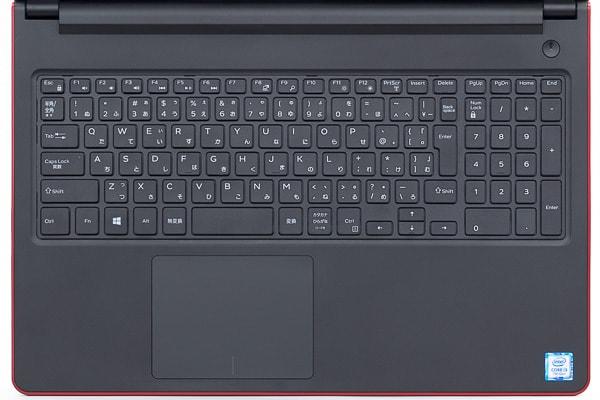 Vostro 15 3000(3568)のキーボード