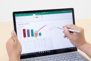 Surface Laptopのペン入力