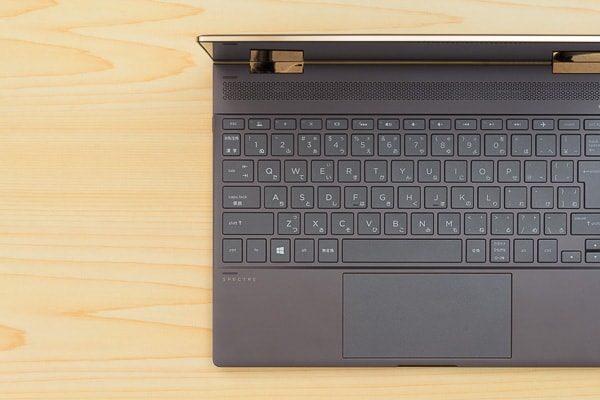 HP Spectre x360のキーボード