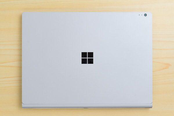 Surface Book 2 13.5インチモデルのデザイン