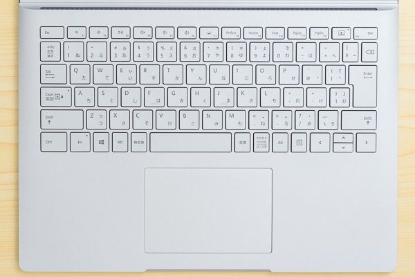 Surface Book 2のキーボード