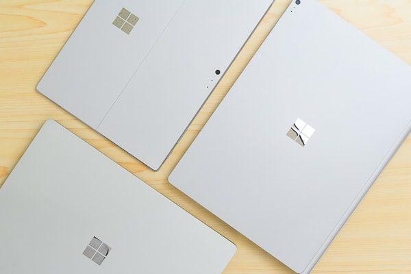 Surfaceシリーズの本体カラー