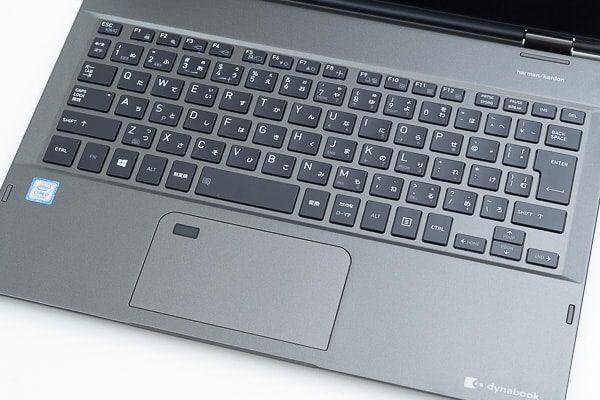 dynabook VZ82のキーボード