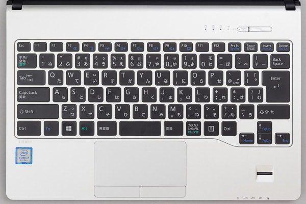 LIFEBOOK WS1/B3のキーボード