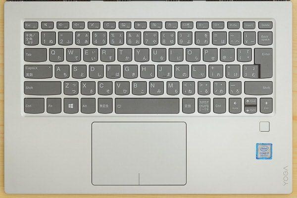 Yoga 920のキーボード