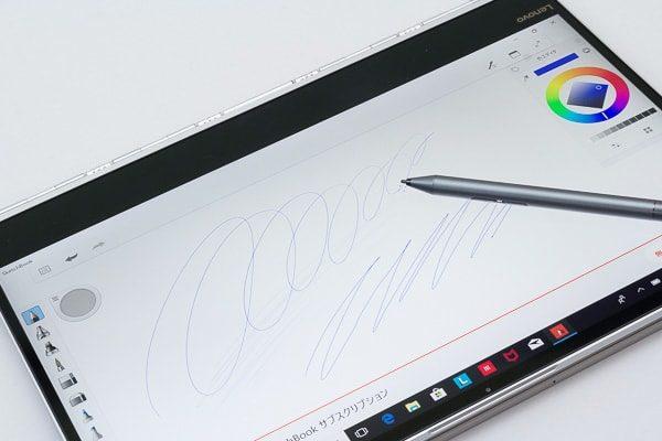 4Kのペン入力