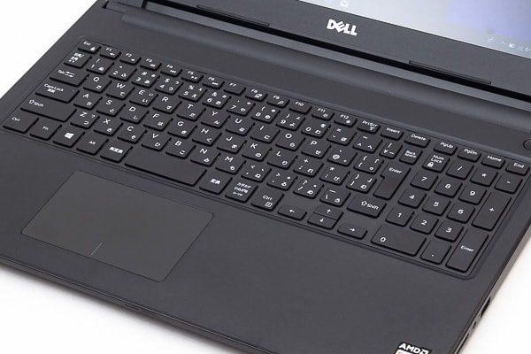 Inspiron 15 3000 (AMD)のキーボード