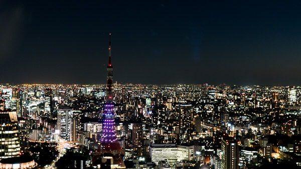 アンダーズ東京からの夜景
