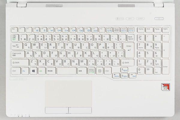 LIFEBOOK WAA/B3のキーボード