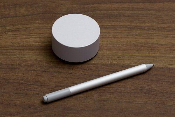 SurfaceダイヤルとSurfaceペン