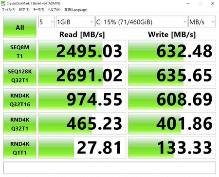 XPSタワー スペシャルエディション (8930) アクセス速度