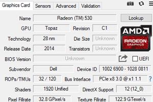 Radeon 530対応