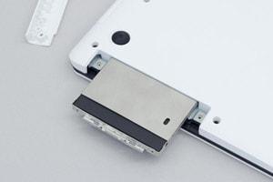 SSDを簡単に追加できる
