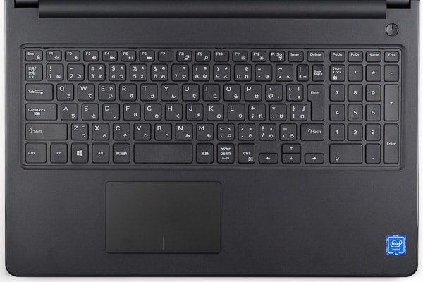 Inspiron 15 3000(Celeron)のキーボード