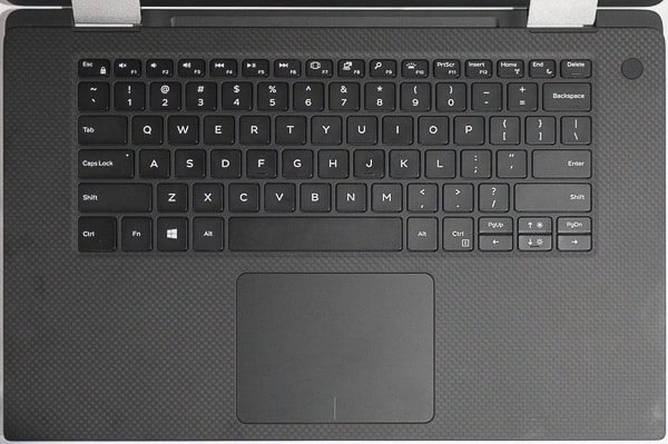 XPS 15 2-in-1のキーボード