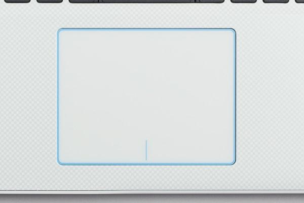 タッチパッドのデザイン