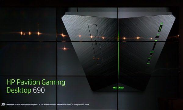 HP Pavilion Gaming デスクトップ 690
