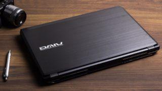 マウス DAIV-NG5720 レビュー:広色域&超ハイスペックなクリエイティブノートPC