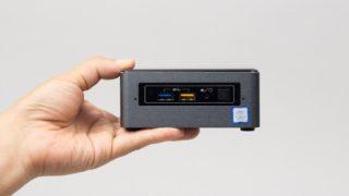 ドスパラ Diginnos Mini NUC K3H レビュー:手のひらサイズの超コンパクトPC