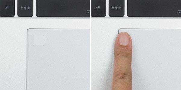 指紋センサー