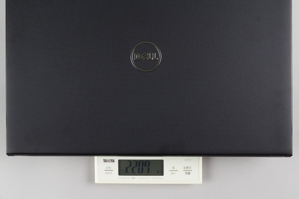 New Vostro 15 3000(3572)の重量
